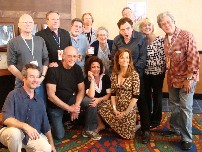 Cast reunion of Back To The Future at the Hollywood Collectors' Show