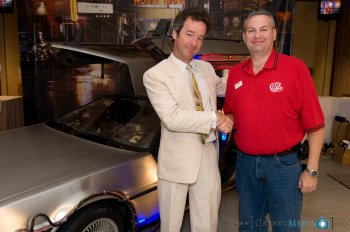 Jeffrey Weissman at the Delorean and Brickman Owners and Back To The Future Fans' Convention